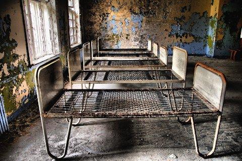 Institusjonen hadde en gang 600 sengeplasser.