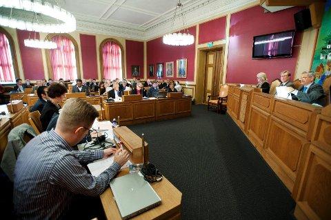 Mest formaliteter på programmet under konstitueringen av bystyret  tirsdag kveld.