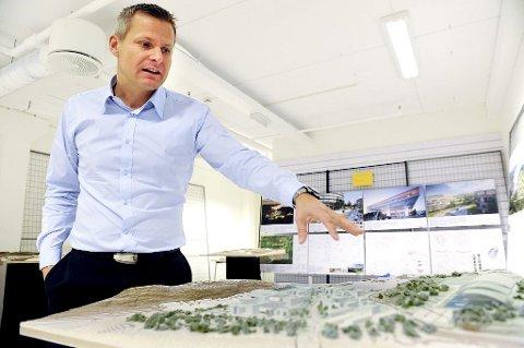 KLAR: Ole Georg Nilsen gleder seg til byggestart i 2013. Foto: Kirvil Håberg Allum