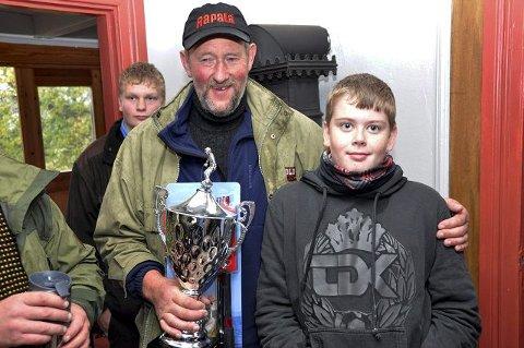 3548b7a4 Vinnerne: Øyvind Evensen og Martin Hop vant henholdsvis senior- og  juniorklassen.