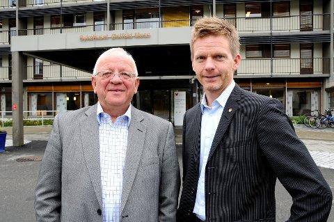 Paul-Erik Krogsvold var på plass under åpningen og lærte samtidig opp Tage Pettersen.
