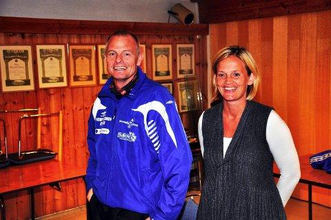 Skal styre skuta: Morten Svalstad og Kristin Sørum skal trene Dala-damene i 2012. Foto: Petter Sand