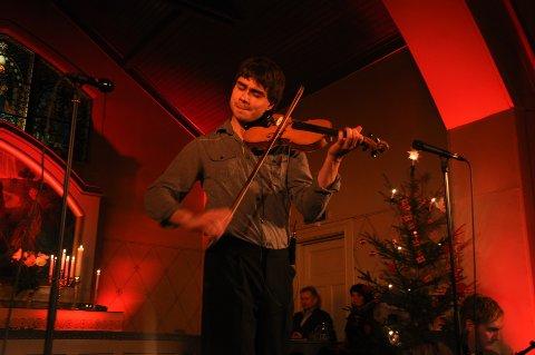 GLITRENDE: Alexander Rybak er stor når han spiller fiolin.