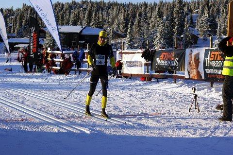 Ensom majestet: Tommy Åsen ble for sterk på slutten og kom alene til mål.