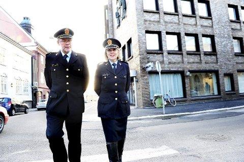 Det bekymrer visepolitimester Steinar Kaasa og politimester Marie Benedicte Bjørnland at Vestfold politidistrikt har flere voldssaker enn de fleste andre politidistriktene.