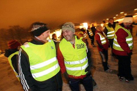 """Jan Ellefsen og Espen Andreassen trives i """"Tjukkasgjengen"""""""