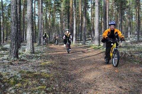 POPULÆRT: Små og store syklister kan glede seg til trygge og tilrettelagte sykkelruter.