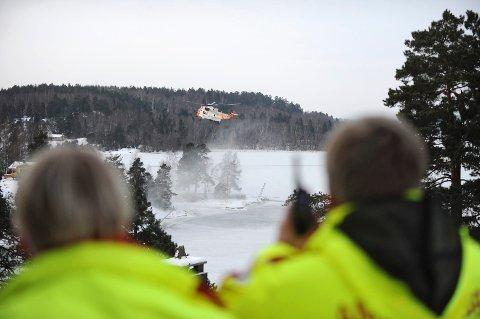 Alle redningsetatene ble sendt til stedet.