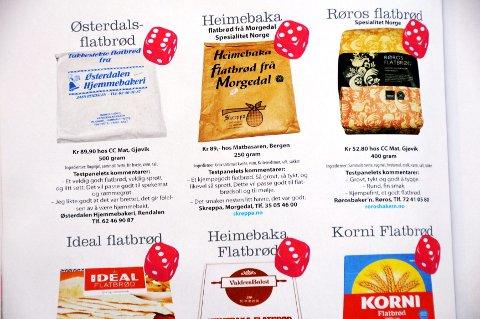 FAKSIMILE: Her slås det fast med terningkast 6 i «Mat fra Norge» at flatbrød fra Østerdalen Hjemmebakeri i Rendalen er det beste.