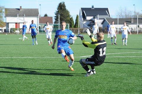 Cupkampen på Haukerød ble blåst i gang klokka 18.