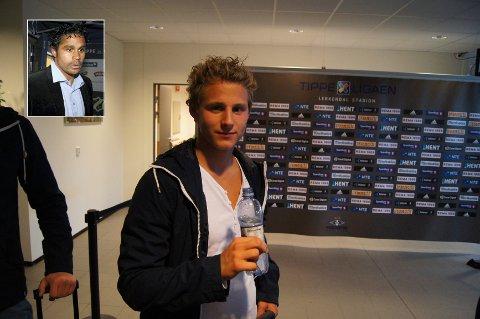 – Vegar må komme seg ut i en tøffere liga, sier Daniel Nannskog (innfelt) til Østlendingen.
