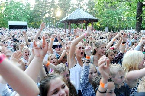 Rapperen Vinni dro også mange til dag to på årets Tønsbergmesse.