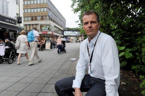 Krimsjef i Sandefjord-politiet, Lars Reiersen, forteller at de tre guttene ble skremt av hendelsen.