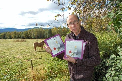 Thorbjørn Bakkens bok «Ta ikke fra meg sorgen» er vakker og personlig. Forsiden er illustrert av søsteren, Kari Nyhus.