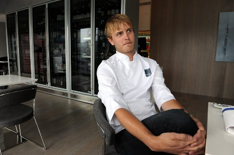 «Geir Skeie kombinerer asiatiske smaker med fersk fisk fra Nordsjøen,» heter det blant annet.