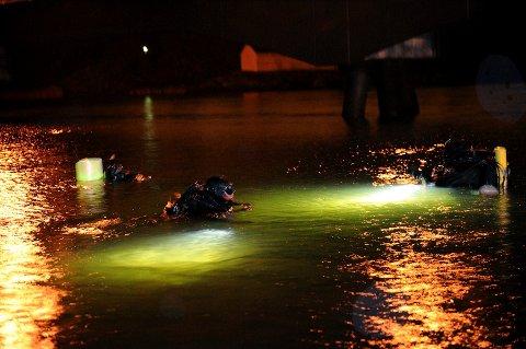 På Løvøya var mange dykkere i vannet på slaget 20.12.