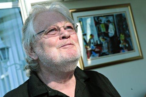 ER DØD:  Jazzmusikeren Frode Thingnæs fra Ski er død.  72 år gammel. FOTO: OLE KR. TRANA
