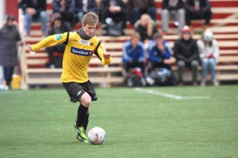 Markus Grønstad har signert ny kontrakt med MFK.