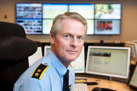 Olav Myrvold, operasjonsleder og operatør i Søndre Buskerud politidistrikt.