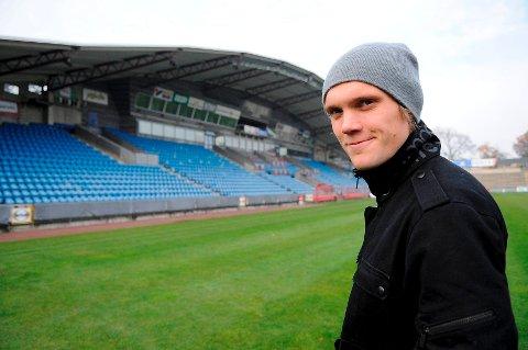 Her er Thomas Sørum på Helsingborgs hjemmebane. Om ikke lenge kan det være Marienlyst som er hjemmebanen.