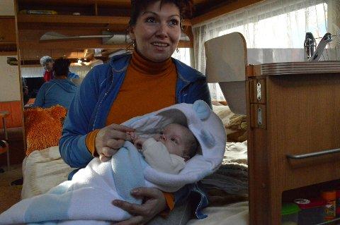 Matias (sju uker) er den yngste i sirkustruppen. Om han er en kommende sirkusstjerne? – Det hadde vært hyggelig, men han får ta en skolegang først, og bestemme seg for hva han vil etterpå, sier mamma Vilma Navratilova.