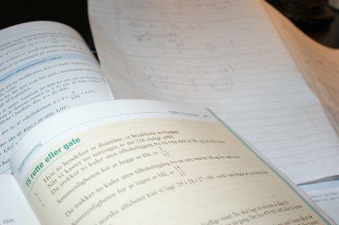 Les mye, repeter stoff og lykke til på eksamen!
