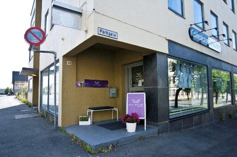 HIT: Hvil vingene dagspa var på plass i de nye lokalene i Parkgata 13 – på rekordtid.