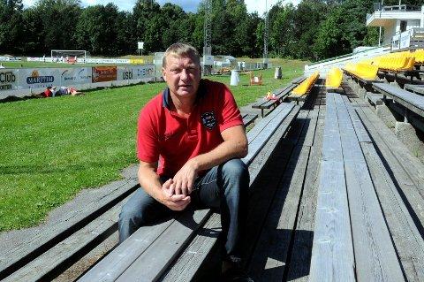 PRIORITERINGSLISTE: Leder for Horten Idrettsråd Harald Røed mener behovet for en ny idrettshall i Horten må tas på alvor.Foto: Eirik Hanssen