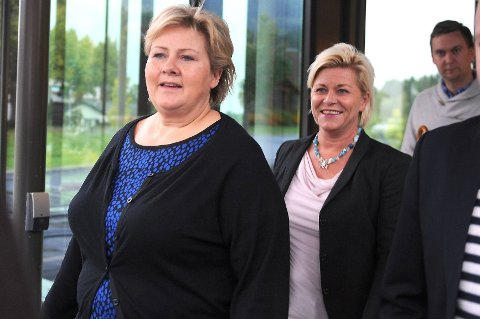 Unio-leder Anders Folkestad utfordrer Erna Solberg og Siv Jensen på fagforeningsfradraget.