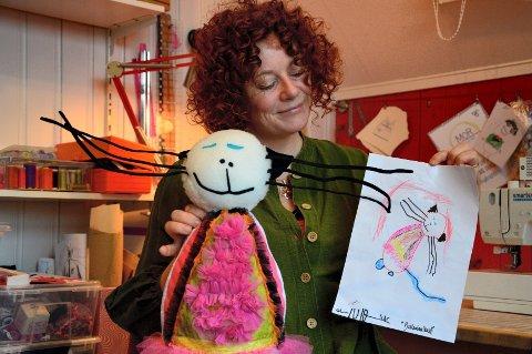 MATILDA: Kosedyret Matilda ble starten på den virksomheten som Lene Noss Ditmansen nå bygger opp. FOTO: JAN BROMS