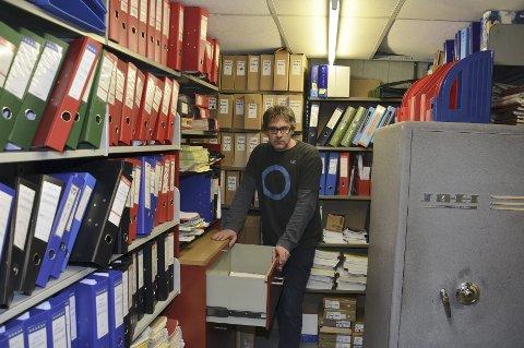 OPTIMIST: Bersvend Salbu forventer at regjeringen sikrer arkivbygging i 2015.