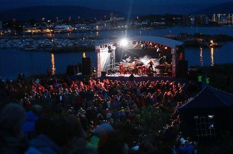 Slik så det ut i Bodø i fjor - og slik folkefest kan det bli også i Fredrikstad, hvis juryen overbevises om at VG-lista skal komme hit.