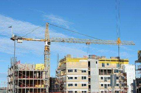 i dag er det dyrt å bygge nytt.