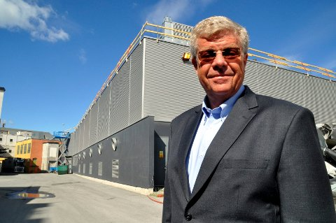 Industrigründer Jørn Markar i Kongsberg Cable Systems.