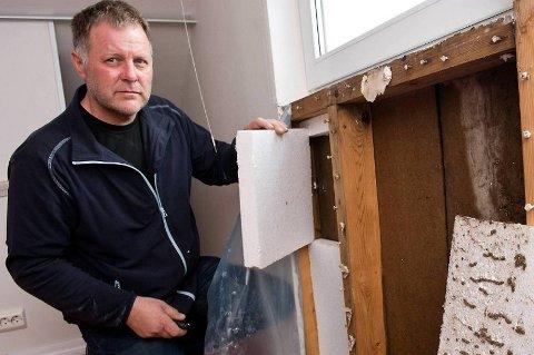 Hvis takstmannen finner ut at det er gjort ulovlige endringer på boligen, kan salgsprosessen dra ut i tid, forteller takstingeniør Finn Skarpenes.