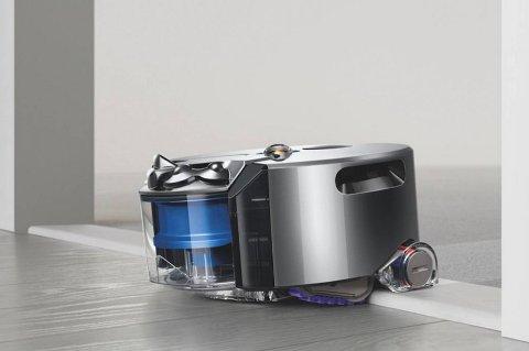 Støvsugeren 360 Eye bruker et øye for å navigere seg rundt i rommet.