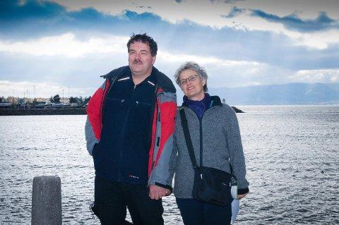 TILBAKE: Mandag var de tilbake, der det hele startet – Martin og Ursula Tschanz. En tur med Skibladner i 1994 forandret livene deres.