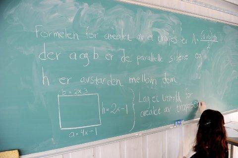 Nei: Anna Karlsen er sterkt uenig med Rune Bård Hansen, som i onsdagsavisen hevdet at det foregår en strukturell diskriminering av gutter i skolen. Foto: Anne Charlotte Schjøll