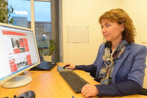 HÅPER PÅ FLERE RUTER: Marianne Reistveit, daglig leder og eier av gruppereisearrangøren Connections AS, forklarer at bedriftskundene i hovedsak ønsker seg weekendtilbud fra Torp. Selskapet jobber aktivt mot flyselskapene for å få dem til å utvide tilbudene.