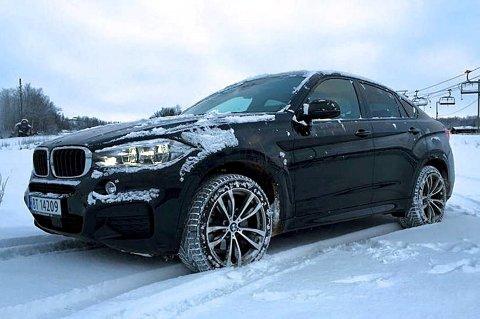 Helt ny BMW X6 er i landet. Vi tok den med til fjells for test.