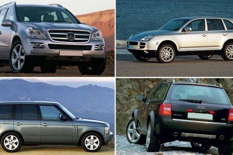 Disse SUV-ene kan bli kostbare å eie.