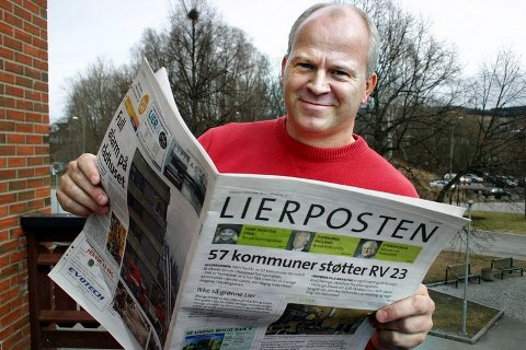 Pål A. Næss er ansvarlig redaktør og daglig leder i Lierposten.