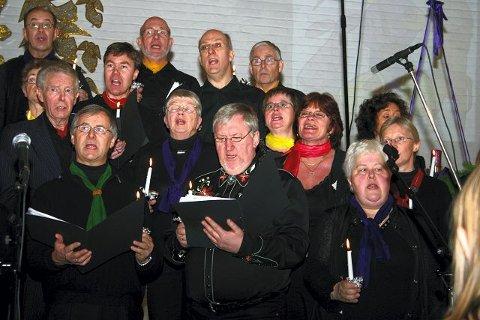 Koret Gregos julekonsert i Greverud kirke