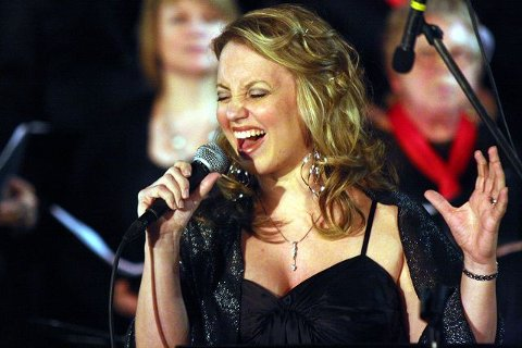 Kolbotn-jenta Liv-Eirin Francis var en av solistene under søndagens konsert.