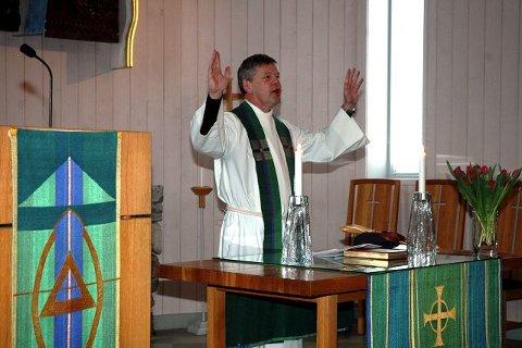 Sogneprest i Brumundda, Geir Hansen er konstituert som prost etter at Bispedømmerådet i Hamar har vedtatt å legge hovedsetet for Ringsaker prosti til Moelv. (Arkivfoto).