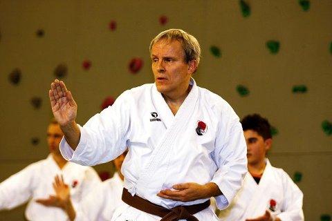 Joachim Wolf (55) fra Holmlia er klubbens eldste aktive utøver.