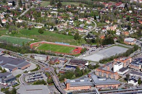 Slik ser Føyka ut i dag. Om noen år vil hele området være omregulert, med blant annet ny fotballstadion, parkområder og næringsliv.
