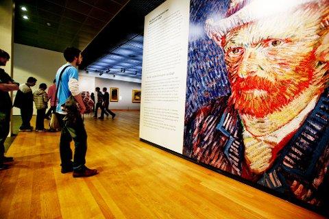 Van Gogh-museet er en av Amsterdams største attraksjoner.