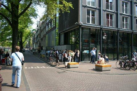 Innsiden av Anne Franks hus.