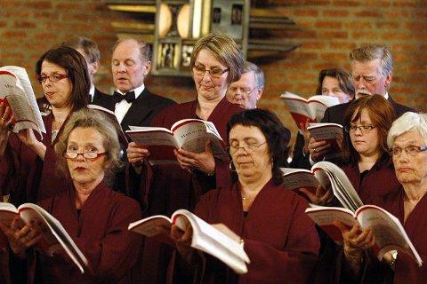 Antonin Dvoraks messe i d-dur ble vakkert fremført av Kongsberg Kantori
